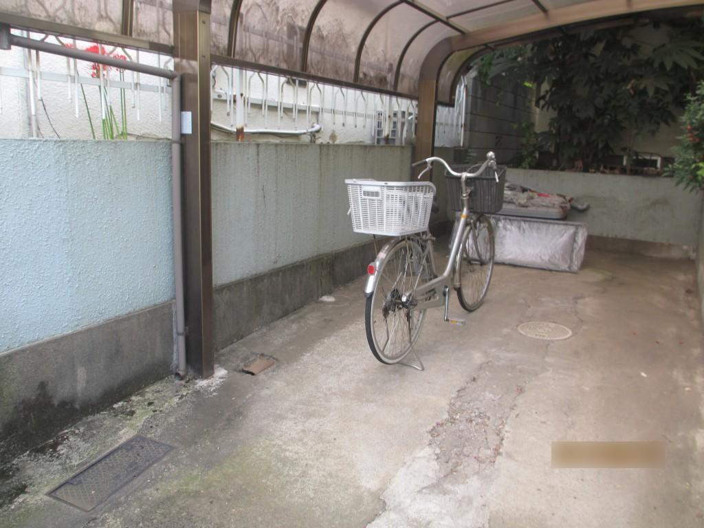 車庫改修ビフォー