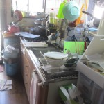 リフォーム前キッチン