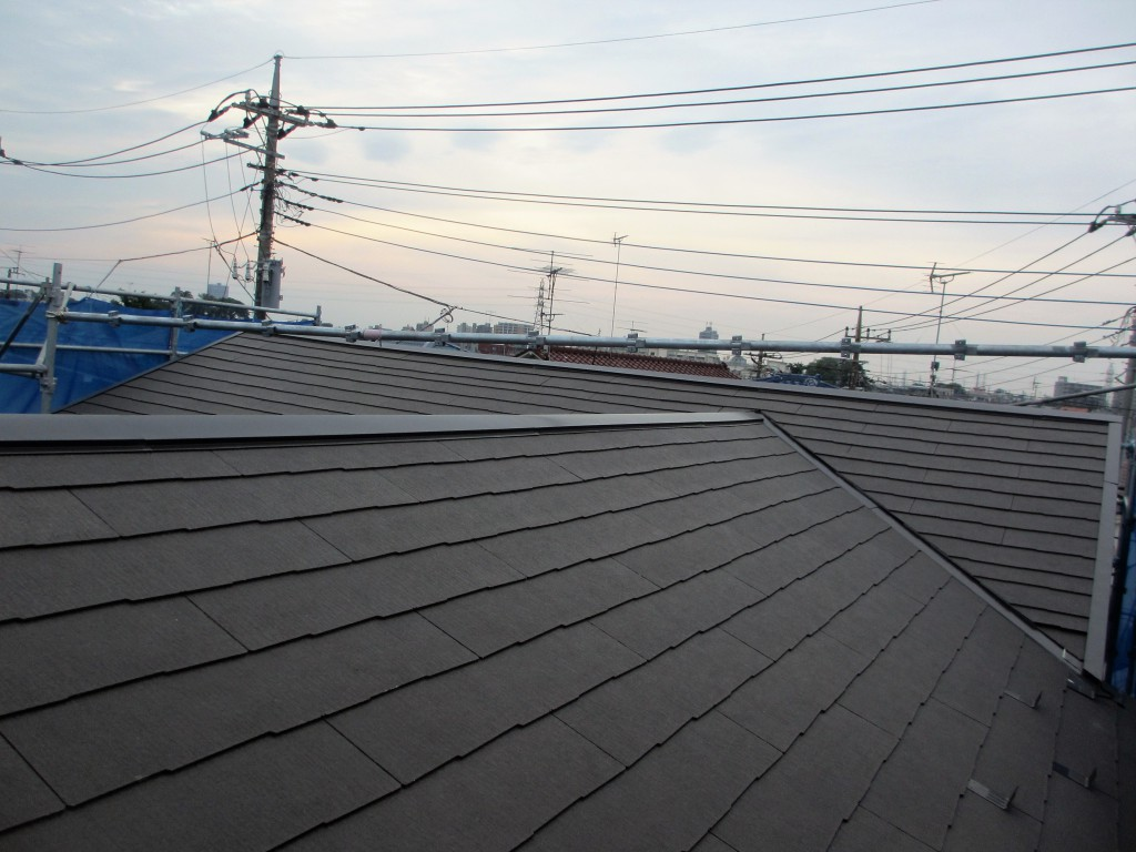 リフォーム後屋根2