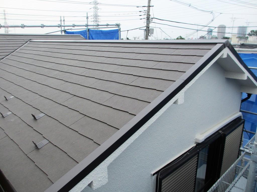 リフォーム後屋根