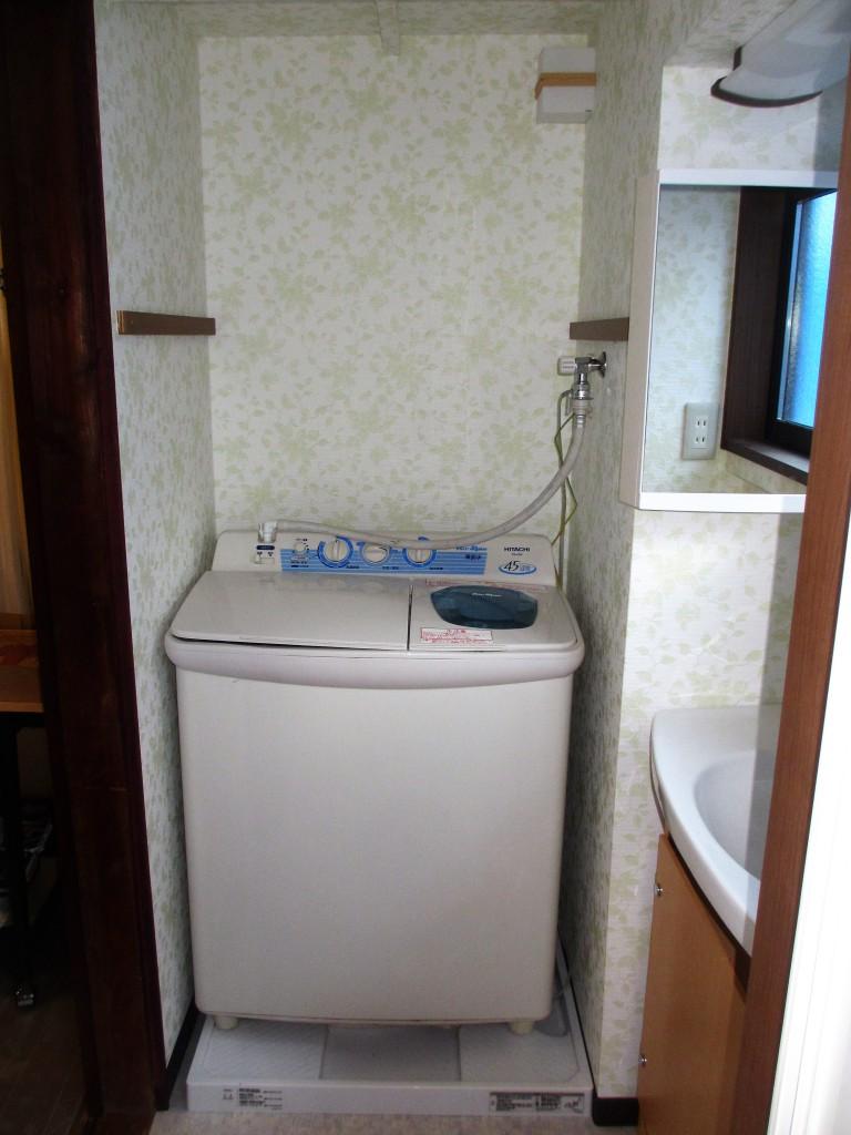 リフォーム後洗面室2