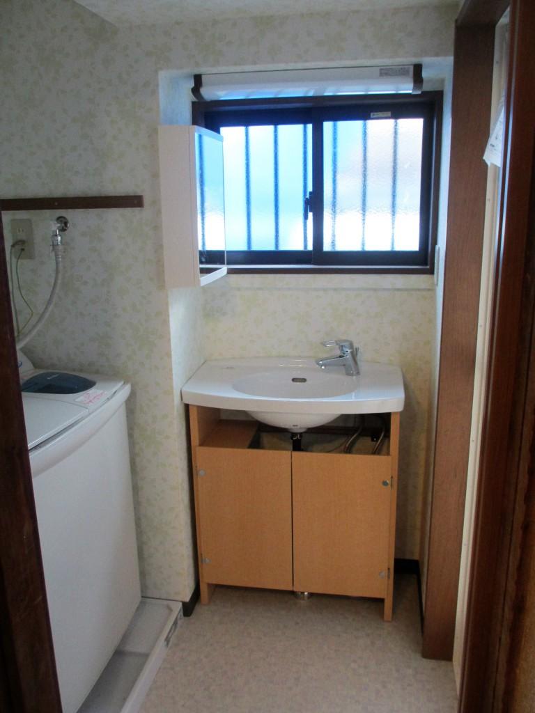 リフォーム後洗面室3